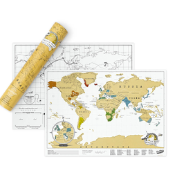 "Mapa ""scratch map original travel edition"""