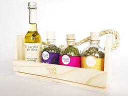 Kit hierbas y aceite de oliva