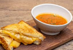Sopa de Tomates Ahumados