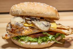🍔 Hamburguesa Tradicional de Pollo