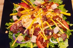 Beef Patty Salad