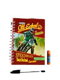 Cuaderno Argollado Cuadriculado X 100 Hojas  + Obsequio