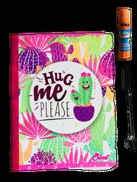 Cuaderno Cosido  Escarchado X 100 Hojas  + Obsequio