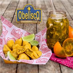 Empanaditas Obelisco x 10 + Lulada