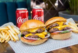Combo Double Double Cheeseburger