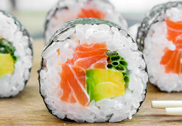 Sushi Salmón Dinamita