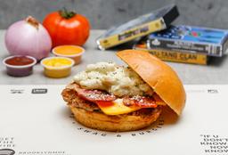 Macarroni and Cheese Burger
