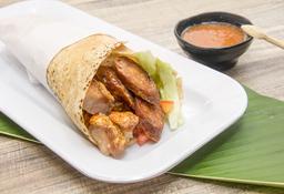 Sándwich de Chicharrón y Chorizo