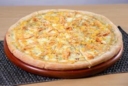 Pizza Pollo con Mostaneza