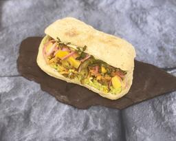 Sándwich de Cochinita