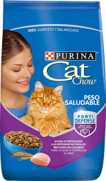 Cat Chow Peso Saludable Forti Defense - 3 Kg