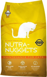 Nutra Nuggets Mantenimiento Para Gatos - 3 Kg