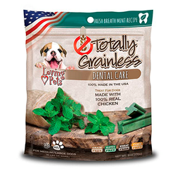 Snack Dog Totally Grainless Dental Chicken Mint Small 6 Oz
