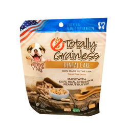 Snack Dog Totally Grainless Dental Chicken Small 6 Oz