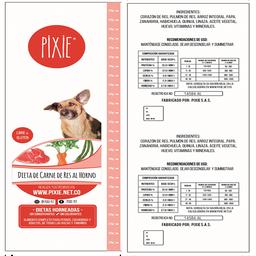 Pixie Dieta De Carne De Res Al Horno - 500 Gr
