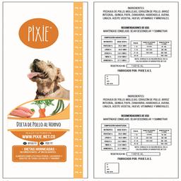 Pixie Dieta De Pollo Al Horno - 500 Gr