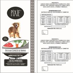 Pixie Dieta De Conejo Al Horno - 500 Gr