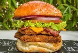 Combo Hamburguesa Honey Chicken Burger