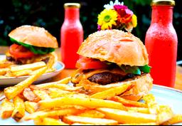 2 Combos Primi Burger con Limonada Sandia