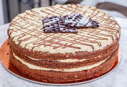 Torta Capa Avellanas (Torta Para Dos)