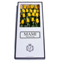 Canaria 24 Rosas caja blanca