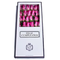 Ibiza 24 Rosas caja blanca