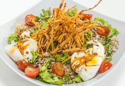 🥗 Ensalada Santé con Huevos Poché