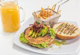 🍔 Hamburguesa Vegetariana