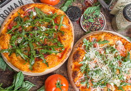 2 Pizzas Gourmet