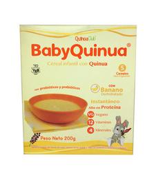 Cereal Con Quinua Banano