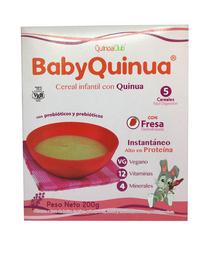 Cereal Con Quinua Fresa