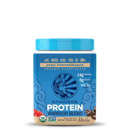 Proteina Organica Warrior Blend Mocha 375Gr