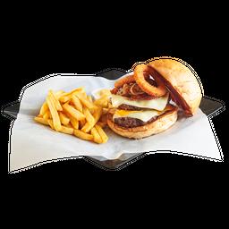 Combo Hamburguesa Atlantic Bacon
