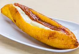 BR Plátano con Queso y Bocadillo