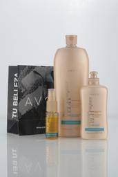 PACK Shampoo + Crema para peinar+ Tratamiento (Argán)