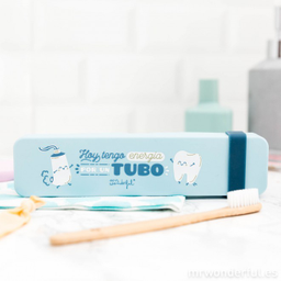Estuche para cepillo de dientes - Hoy tengo energía por un tubo