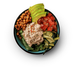 Bowl Avocado Tuna