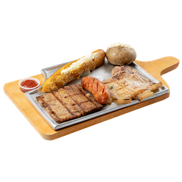 Sobrebarriga + Cerdo + Chorizo
