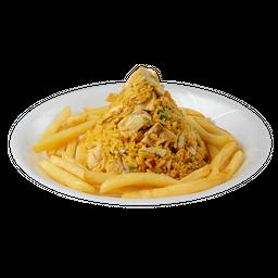 PROMO: Arroz con Pollo + Pan+ Gaseosa 250ml
