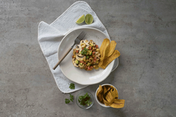 Ceviche Palmitos y Champiñones