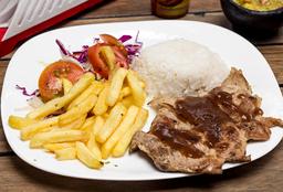 Lomo de Cerdo en Salsa BBQ