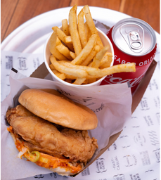 Combo Spicy Fried Chicken Sandwich