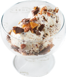 Helado con English Toffee