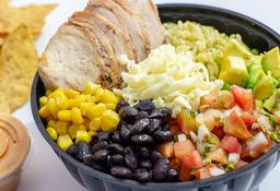Cilantro Rice Bowl + Limona de Lychees