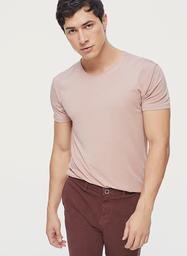 Camiseta Hombre Básica Palo De Rosa