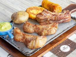 2 Costillas de Cerdo en Salsa BBQ