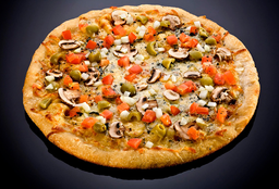 Pizza Suprema de Vegetales