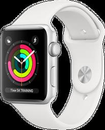 Apple watch s3 42 sl al wht sp cel-cla