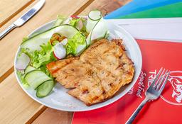 Porción de Pechuga de Pollo + Ensalada Fría Pequeña