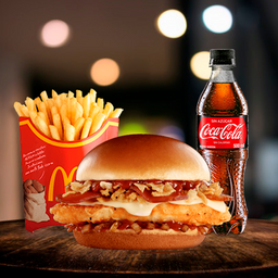 McCombo™ Crispy Onion Barbecue con Pollo Crispy